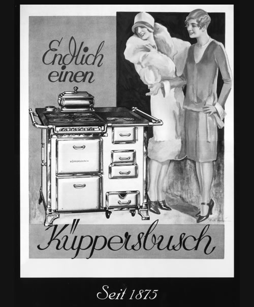 kuppersbusch灶具