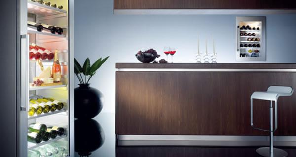 西门子vinoTek专业私家酒柜独享酒窖的气质