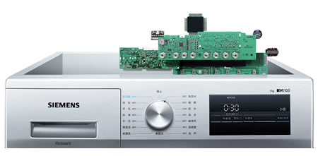 SIEMENS西门子iQ100系列洗衣机液晶智能控制系统