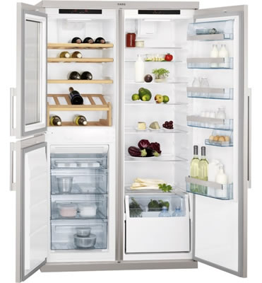 AEG带储酒柜冰箱S95800XTM0