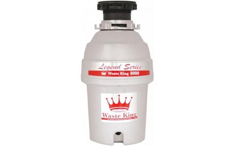 安纳海姆Waste King Legend 8000食物垃圾粉碎机
