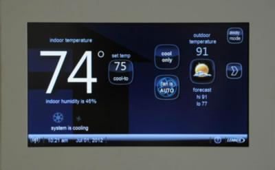 Lennox发布Wi-Fi无线空调调温器