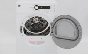 GE洗衣机镀铬15寸可逆机门