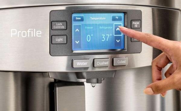 如何设置GE冰箱温度保持食物新鲜?