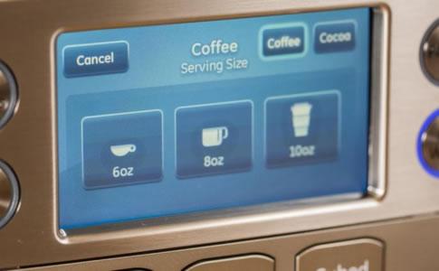 GE Profile冰箱煮咖啡选项