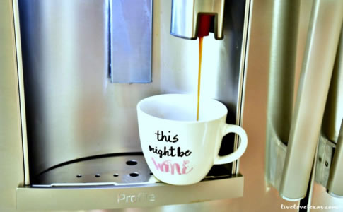 GE Profile冰箱煮咖啡