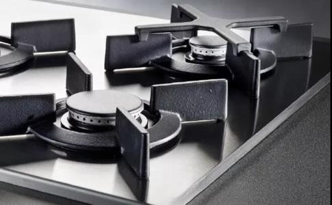 ASKO火山焰炒锅炉头燃气灶巧妙设计,高效的A+级炉头