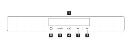 AEG冰箱S95800XTM0控制面板