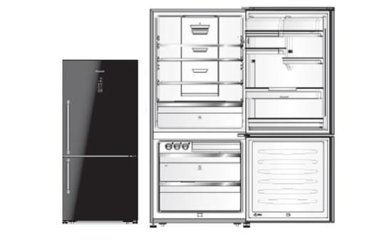 Brandt冰箱BFCG757NC