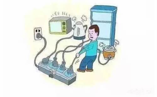 """不要让家用电器带""""病""""工作"""
