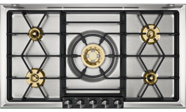 VG295220CN不锈钢燃气灶 Gaggenau灶具 5火眼设计满足多烹饪模式