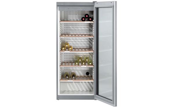 Miele酒柜KWL4712SG 设计别致 温度湿度精确双控 酒品收藏必选精品