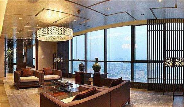 金茂北京威斯汀大饭店总统套房 GE冰箱只是冰山一角