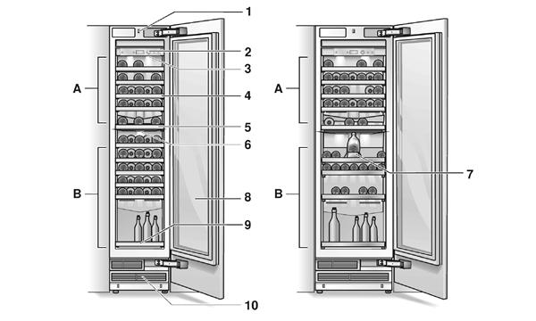 了解GAGGENAU酒柜的结构