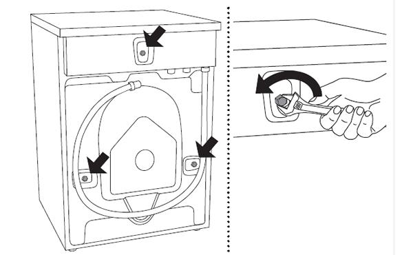 首次使用ASKO洗衣机W6098X之前说明